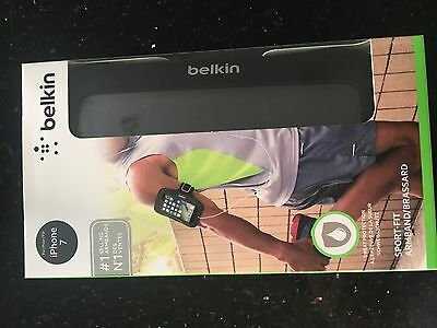 Belkin iPhone 7 Sport-Fit Neoprene Fitness Armband protection F8W781btC00