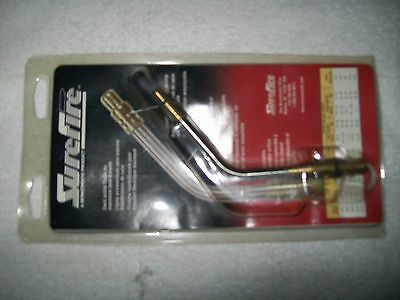 Surefire Bernzomatic Commercial Air Acetylene Swirl Flame Tip Quick Connect