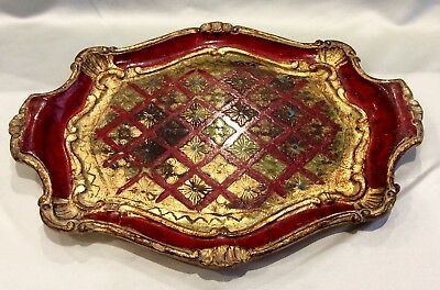 Italian Tole Florentine Serving Tray