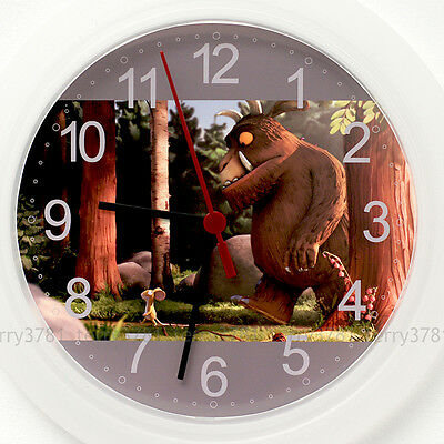 THE GRUFFALO Wall Clock NEW - 24cm Kids Cute Christmas Gift
