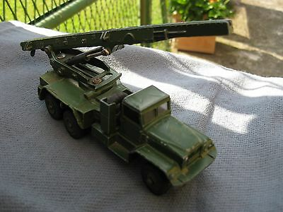 dinky toys militaire camion HONEST JOHN MISSILE LAUNCHER n° 665