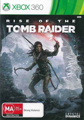 Rise of the Tomb Raider Xbox 360 Game NEW