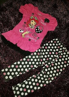 Girls strawberry shortcake  outfit never worn but washed  size 3