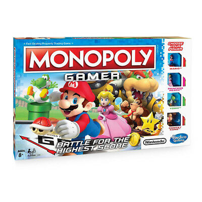 MONOPOLY Gamer Board Game NEW