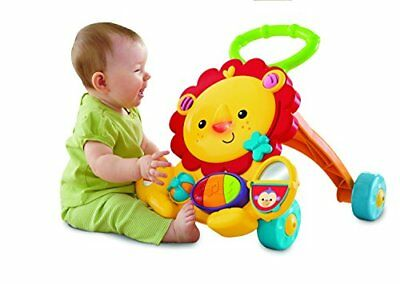 Fisher-Price Musical Lion Walker Developmental Toy For Baby Toddler, NEW