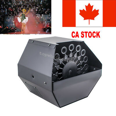 Bubble Machine Remote Contol Stage Effect Machine special Effects Ideal Quality