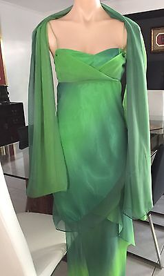 Spectacular cocktail/formal Dress With Wrap By Studibaker Size 8