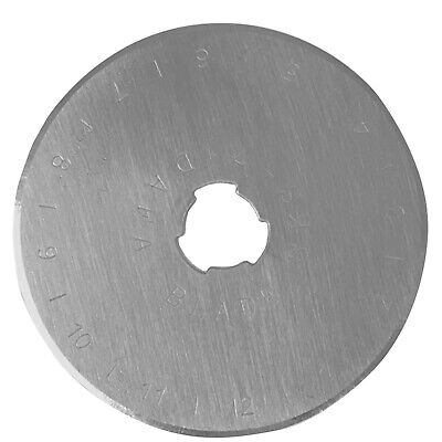 Quilted Bear DAFA 45mm Rotary Cutter Spare Replacement Blade Suitable for OLFA