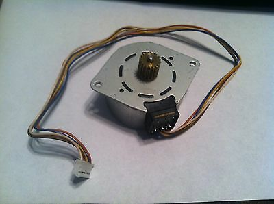 Fax Machine Parts - Motor - MSCS048A95 - from working HP 900 Model