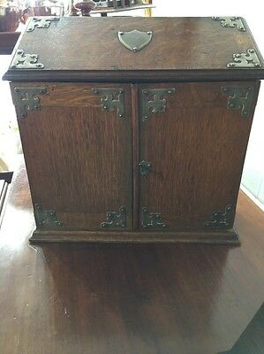 antique smokers cabinet