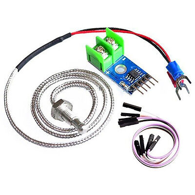 Temperature Sensor M6 Kit for Arduino MAX6675 Module + K Type Thermocouple+Cable