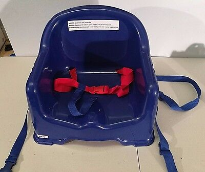 Lightweight Plastic Child Booster Seat without tray  USED ONCE Spare High Chair