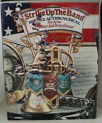 Enesco Musical Society  -  Strike Up The Band -  Deluxe Action Musical  NIB