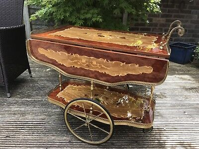 Vintage SORRENTO DRINKS TROLLEY - Beautiful Condition - Possible Delivery