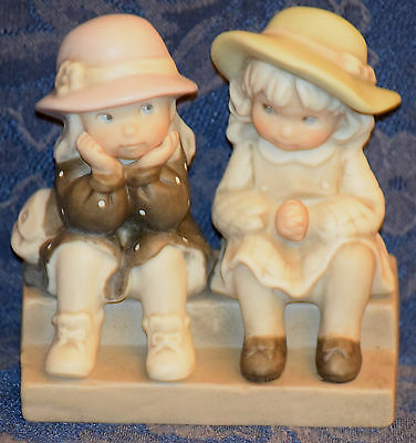 "ENESCO Kim Anderson ""We're Two Of A Kind"" FIGURINE #175358, 1995 !FREE SHIPPING!"