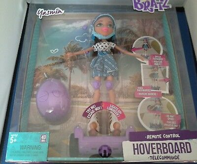 Bratz Remote Control Purple Hoverboard with Doll - Yasmin