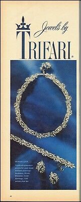 1959 Vintage ad for Jewels by TRIFARI`Jewelry (060114)