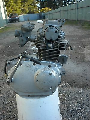 Honda CB125 twin engine