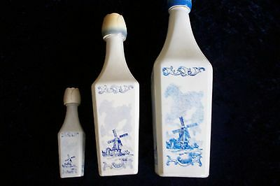 3X Dutch windmill bottles [CAN POST ]