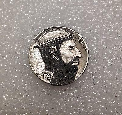"1937 Hobo Nickel - ""Old West Stagecoach Driver"""