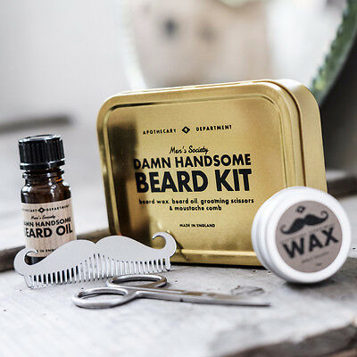 "Damn handsome"" Beard Grooming Kit"