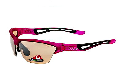 Bolle Sunglasses Tempest Satin Pink Modulator V3 Golf 12009 - Made In Italy