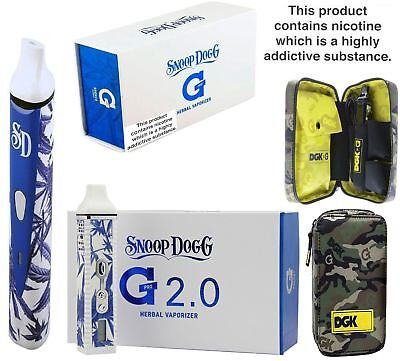 Original Herbal Blue/White GPro 2.0 Porcelain G ECigarette Camouflage Kit