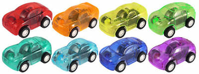 12 Pull Back Cars - 5cm - Pinata Toy Loot/Party Bag Fillers Wedding/Kids