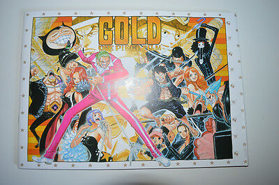 ONE PIECE FILM GOLD Movie Book Pamphlet - RARE