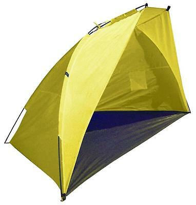 Yellow Dome Beach Tent 2.1 Metre Pop Up Sun Shelter Festival & Fishing RY583