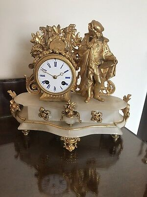 17th Century French Mantle Clock