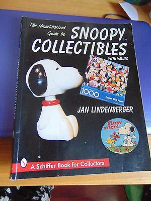 Snoopy Collectibles & values book, by Jan Lindenberger, large thick paperback