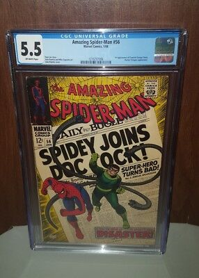 Amazing Spider-Man #56 CGC 5.5