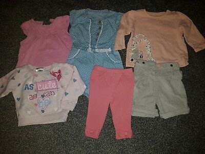 Girls Clothing 6-9 Months Great Condition 6 Items