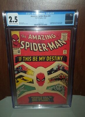 Amazing Spider-Man #31, CGC 2.5