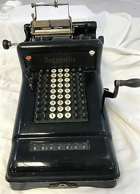 Antique Steampunk Burroughs Adding Machine Cash Register #3-730822