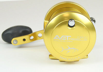 New Avet LX 6.0 Single Speed Lever Drag Casting Right Hand Reel Color - Gold