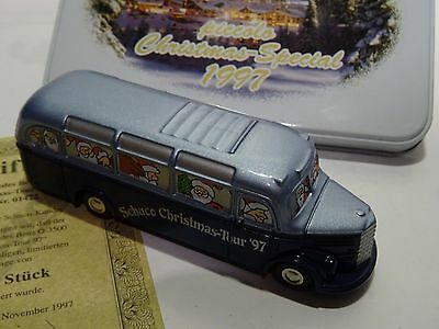 schuco Piccolo Christms Spazial 1997 MB-Bus in OVP