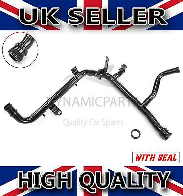 Metal Coolant Pipe 038121065Ce New For Vw Transporter T5 1.9 Axb Axc Brr Brs