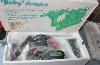 G4173 Grizzly 1/4 HP baby Power Feeder new in box woodworking tool