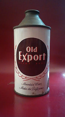 Vintage Old Export Cone Top Beer Can Cumberland, Maryland-Empty