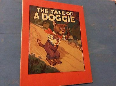 The Tale of a Doggie by Alice Hancock 1929 Vintage Children's Book