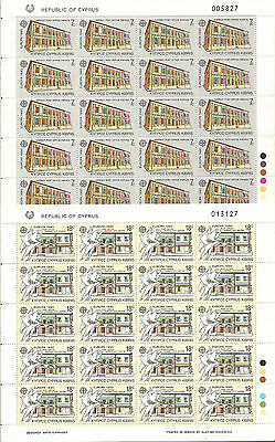 CHIPRE Cyprus EUROPA cept 1990 Sin Fijasellos MNH  Sheets