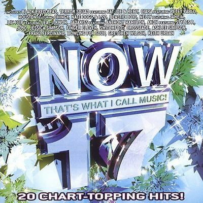 Now That's What I Call Music! 17 Cd Various Artists New Sealed