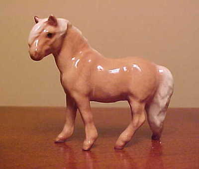 Hagen-Renaker Mini #3065 SHETLAND PONY STALLION - Miniature Ceramic Figurine