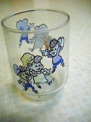 Kellogg's collector series 1977 glass with snap, crackle & pop