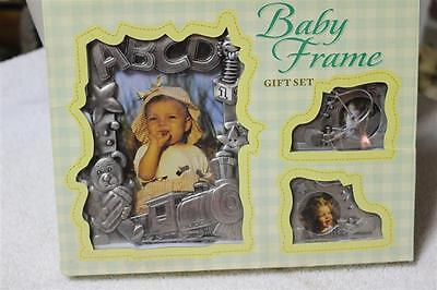New in Box, Baby Frame Gift Set Very Nice