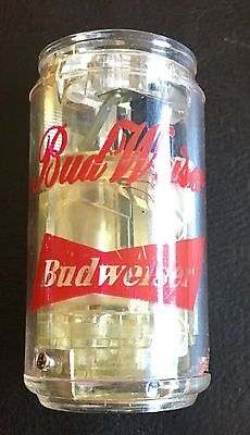 Vintage Budweiser Beer Can ReFillable Butane NOS Lighter NeverUsed! SEE PHOTOS!
