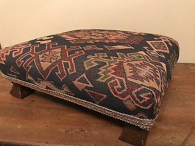 Beautiful Edwardian Footstool