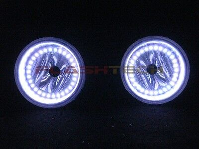 Mitsubishi Lancer White LED HALO FOG LIGHT KIT (2008-2014)